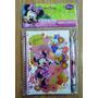 Minnie Mouse Princesas Set Libreta Diario Secreto Cotillon