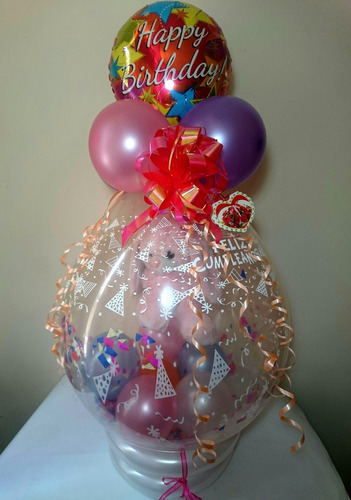regalos, recuerdos y arreglos con globos a domicilio