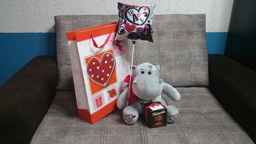 regalos-san valentin-entrega con bolsa de regalo + globo 3