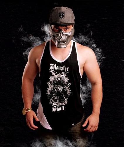 regata academia - fitness - monster skull