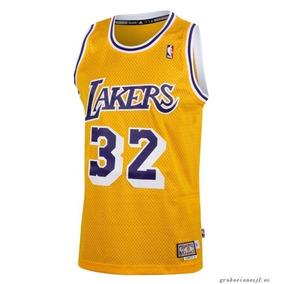 195da4d1d6cb Regata Infantil Réplica Lakers Adidas no Mercado Livre Brasil