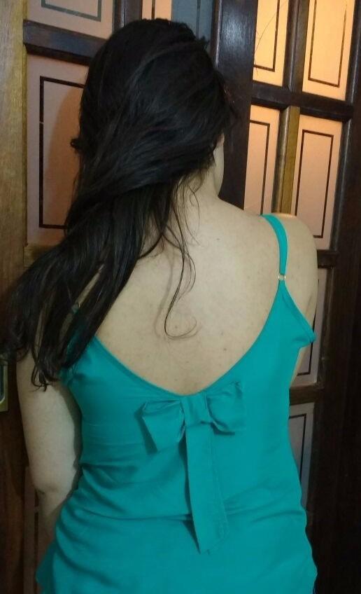 Regata Blusas Roupas Femininas Viscose Detalhe Laço Verão - R  15 8a70fd3e281