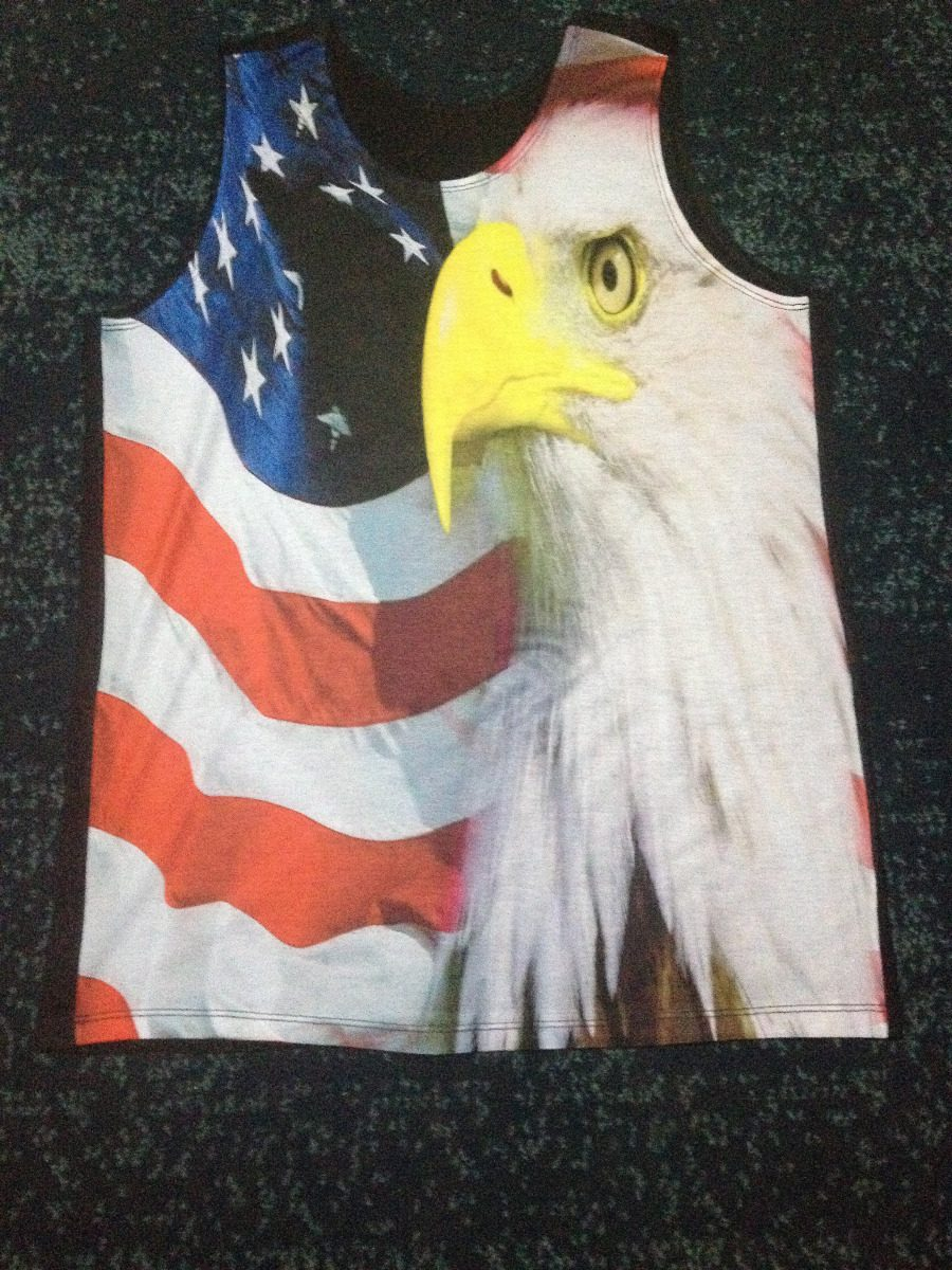 Regata Camisa Bandeira Aguia Eua Usa Estados Unidos 572 - R  35 0e93ab3c69648