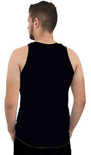 regata camiseta masculina tatoo-desenho-serie-caveira preta