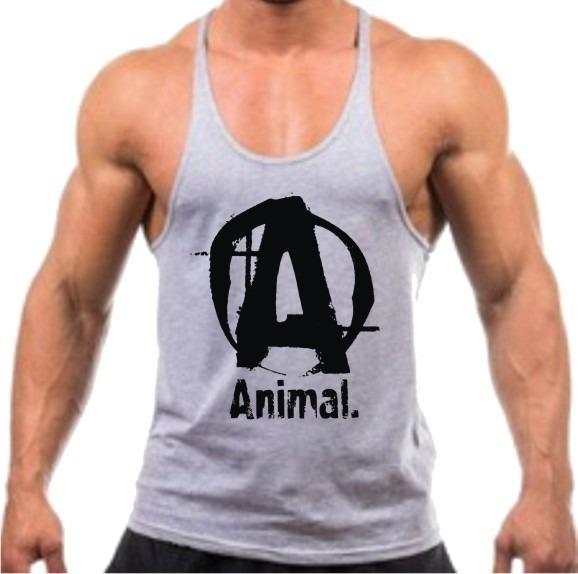 Regata Cavada Animal P  Musculação Academia Malhação Fitness - R  26 ... cf18628be1b