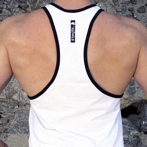 c108087965c11 Regata Cavada Fitness Masculina Esmaga Que Cresce Tmjfit - R  52