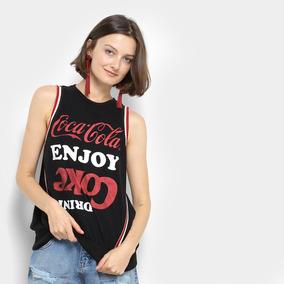 a062292e58 Regata Coca-coca Estampada Enjoy Drink Feminina