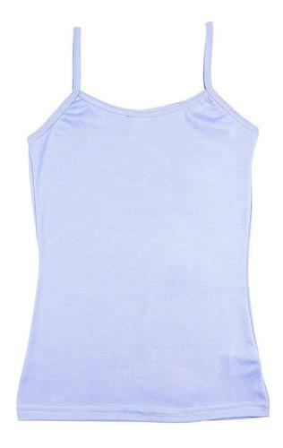 regata colombo feminina azul celeste lisa  11155