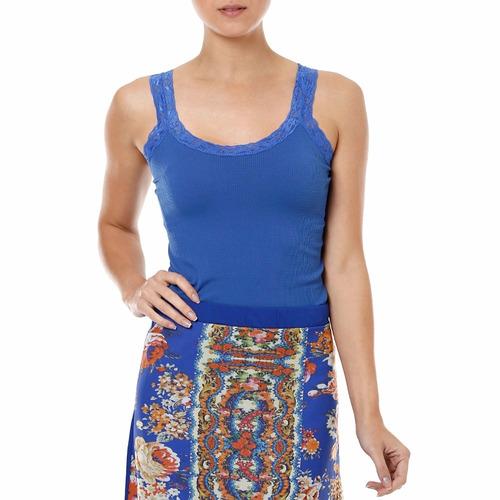regata de alça com renda - blusa, blusinha moda feminina