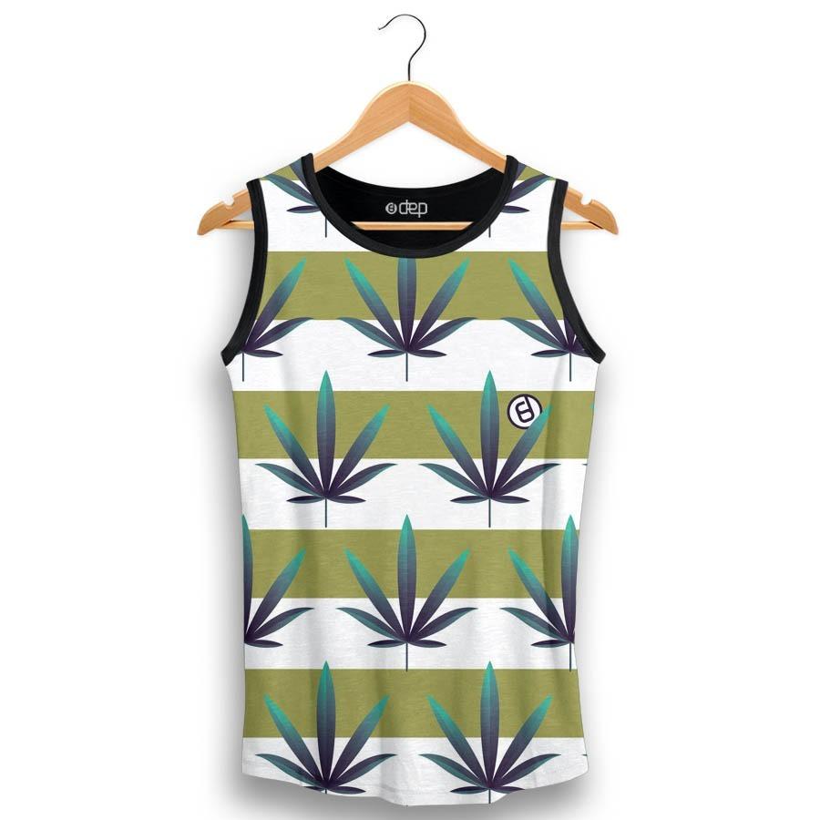 regata dep folhas cannabis listras verde. Carregando zoom. 27b668260e6