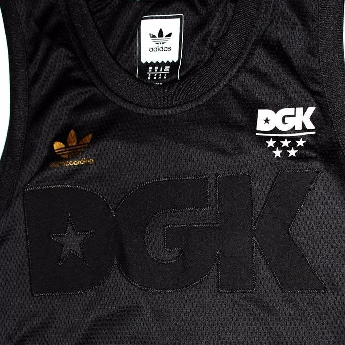 bb0b07b0115 Regata Dgk X adidas B-ball Jersey Rodrigo Tx Preto Original - R  159 ...