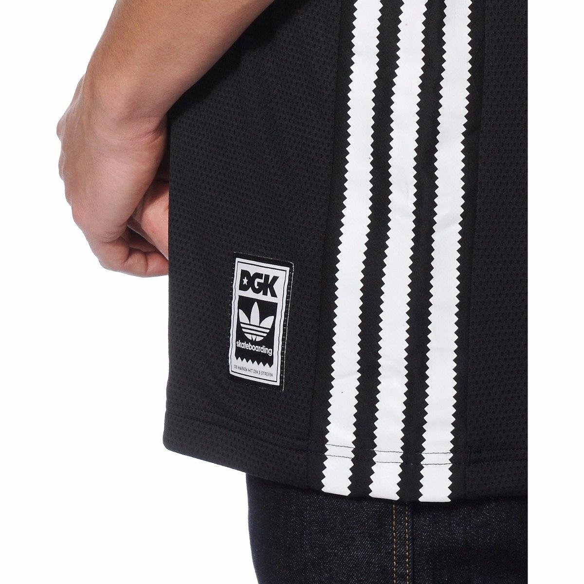 regata dgk x adidas b-ball jersey rodrigo tx preto original. Carregando  zoom. 89d7f04e3f4a1