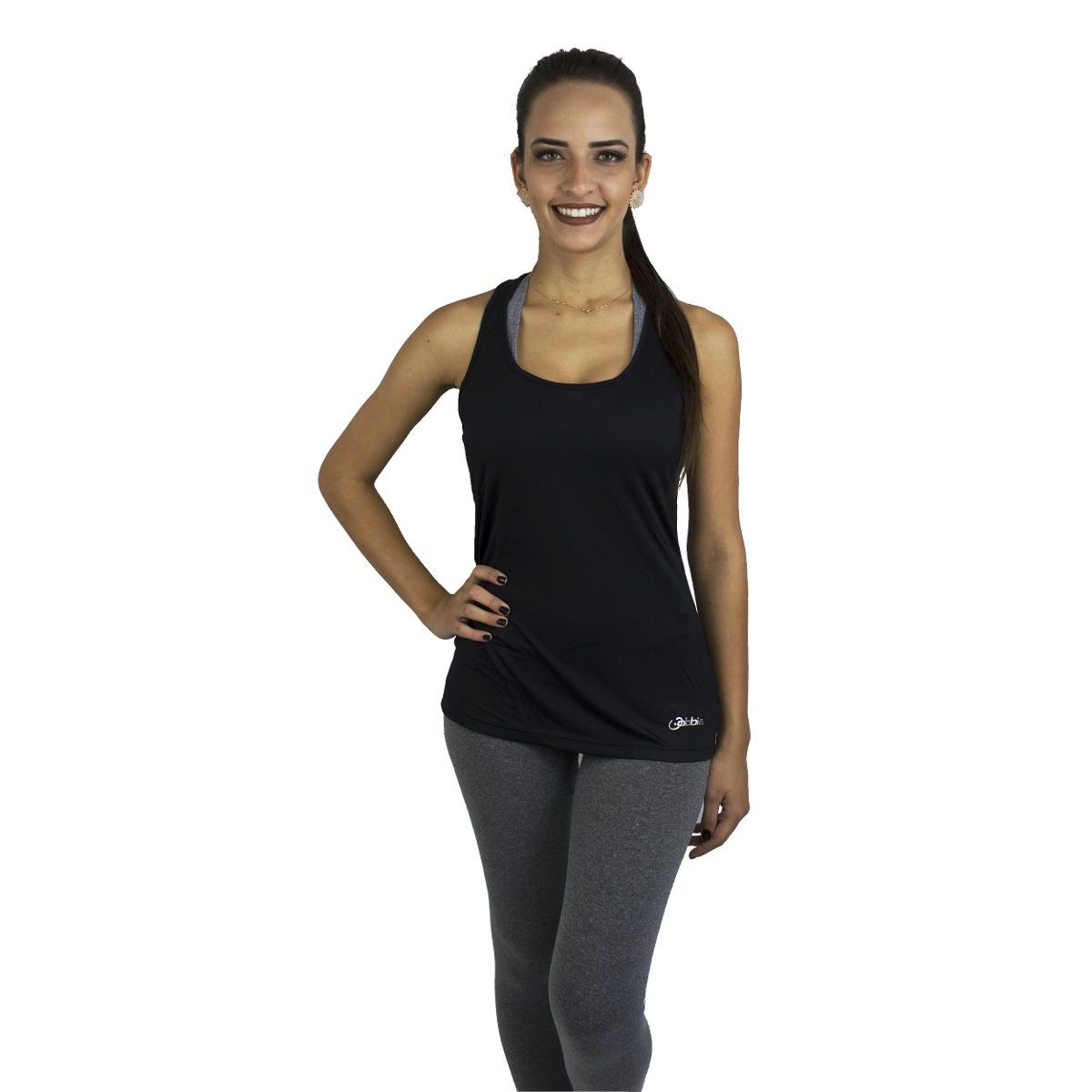 Regata Dry-fit Lisa Fitness Obbia Longa Feminina- P-preto - R  37 8008b8d065be1