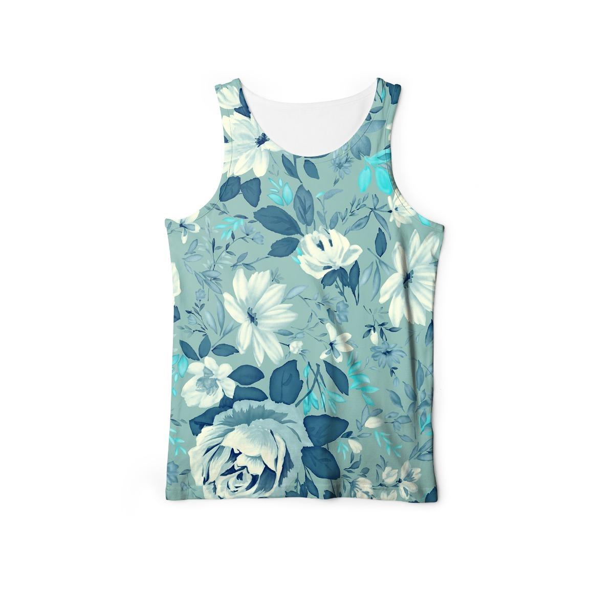 regata estampada masculina floral camisa regatas floral. Carregando zoom. ea4244b3e5a