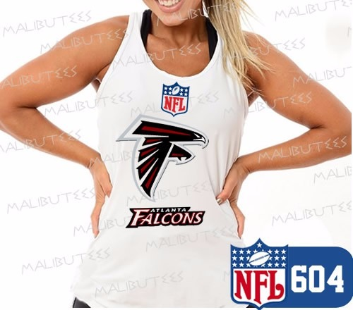 614abfd1dfa9f Regata Feminina Atlanta Falcons Futebol Americano Camiseta - R  29 ...