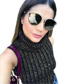 77f678fbc Blusa Gola Alta Feminina - Blusas Feminino no Mercado Livre Brasil