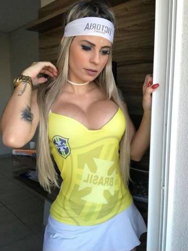 regata feminina com bojo copa do mundo brasil rússia