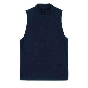 9b7e8fa0f0 Camiseta Branca Malha Canelada - Calçados