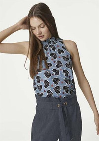 017829872 Tecido De Viscose Sarjada - Camisetas e Blusas no Mercado Livre Brasil