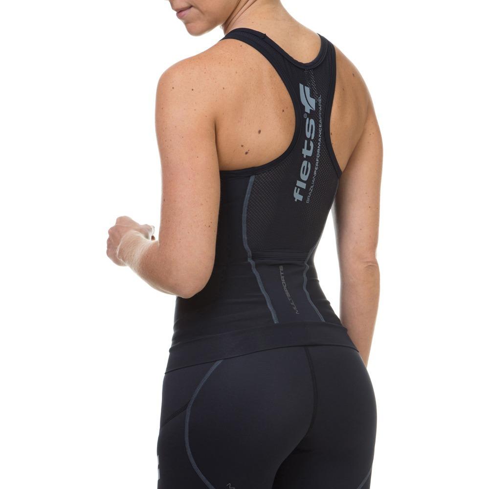regata feminina flets multisport triathlon compressao sport. Carregando  zoom. 8a485fec87058