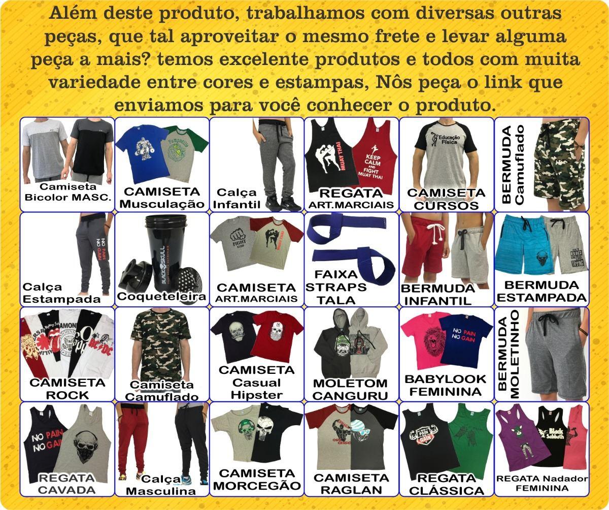 Regata Feminina Nadador Longa Caveiras Academia Blusinha Fit - R  22 ... e04d25fc87901