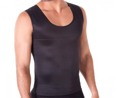 regata fitness masculina -compressão, modeladora, postural