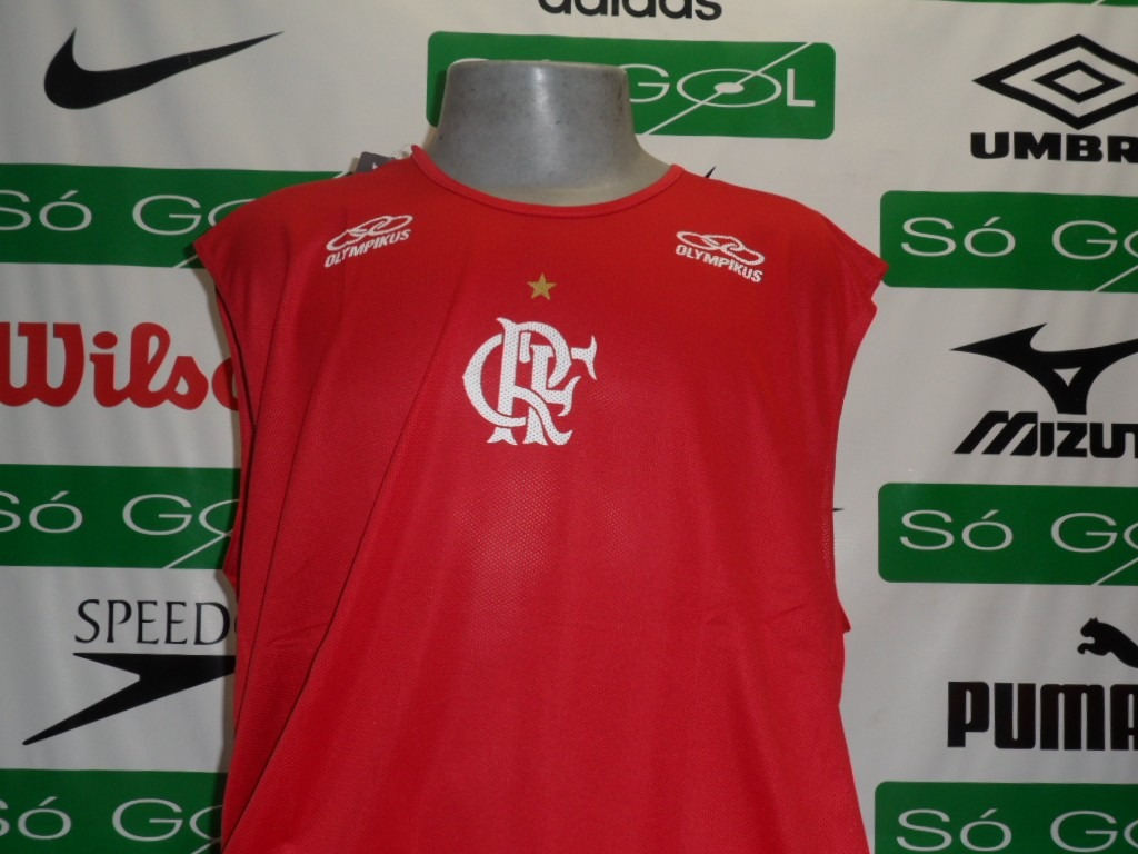 270f12143c Regata Flamengo Treino Oficial Olympikus + Frete Grátis - R  59