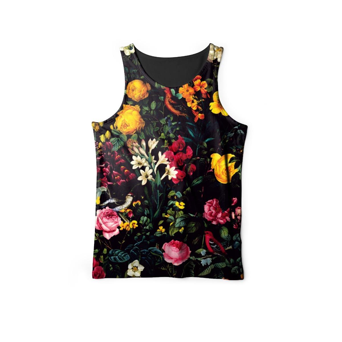 regata floral masculina camiseta estampada flores florida. Carregando zoom. 49518dbfe11