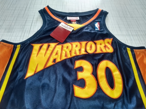 newest 30240 6fa90 Regata Golden State Warriors Stephen Curry Mitchell & Ness