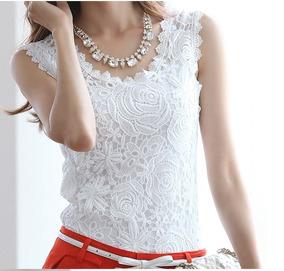 01dd4f6f46 Lindas Camisetas Customizadas Com Aplicações De Renda !!! - Camisetas e  Blusas no Mercado Livre Brasil