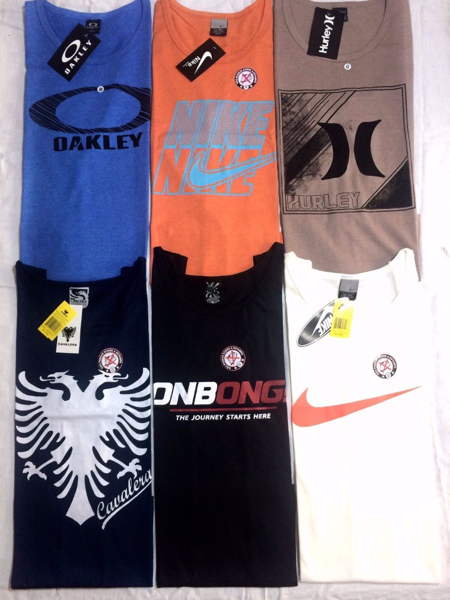 904578ffeff5c regata masculina camisas camisetas regatas kit 7 regata surf. Carregando  zoom.