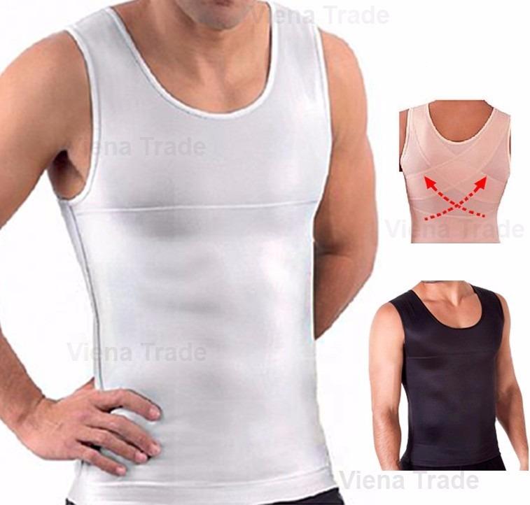 Regata Masculina Compressão Fitness Reforço Postura Promoção - R  69 ... bd28f3977f9