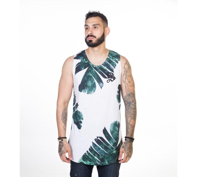 regata masculina floral tropical sacerdote jeans. Carregando zoom. a4a7a42eee0