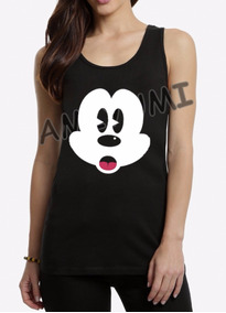 ddf983c39 Camiseta Regata Mickey - Taman no Mercado Livre Brasil