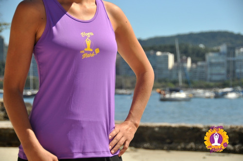 regata nadador feminina tecido skin fit