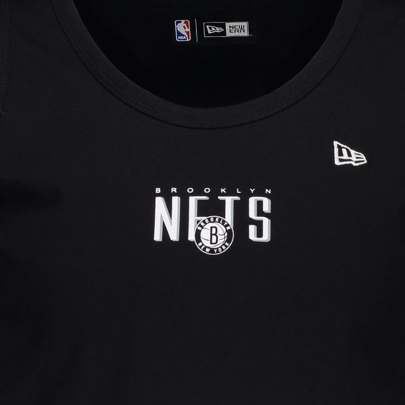 a900d788bc Regata New Era Nba Brooklyn Nets Fresh Preta - R$ 49,90 em Mercado Livre