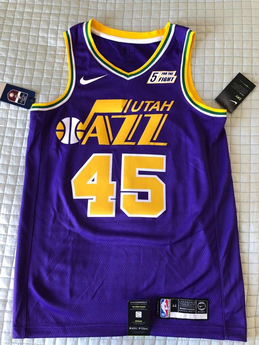 info for eb2d7 4e4d8 Regata Nike Connected Utah Jazz - Donovan Mitchell