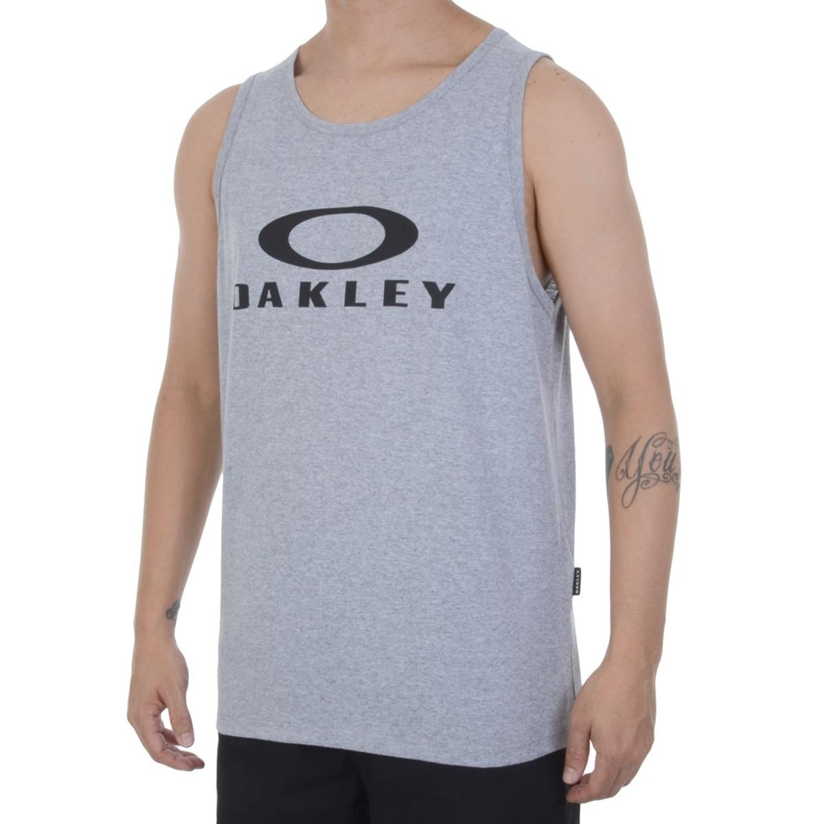 860ce1bcca regata oakley tank color cinza. Carregando zoom.