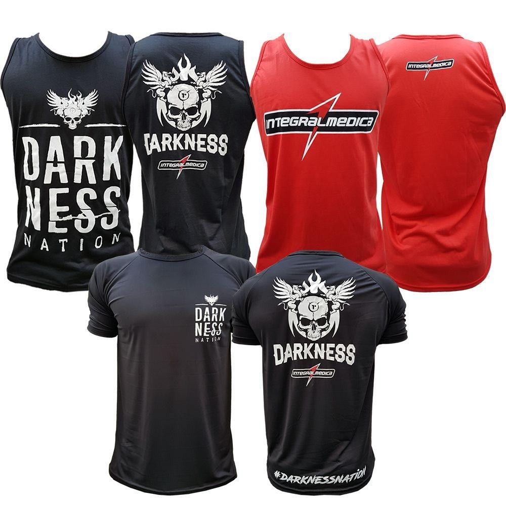 9fc09f4ceb Kit Regata Darkness + Regata - Vermelha + Camiseta Darkness - R  119 ...