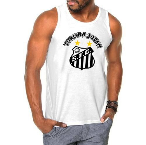 3d84230165 Regata Santos F.c Torcida Camisa Jovem A Melhor Lançamento - R  26 ...