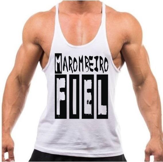 Regata Super Cavada Masculina Musculação Academia Fitness - R  26 de5b533d519