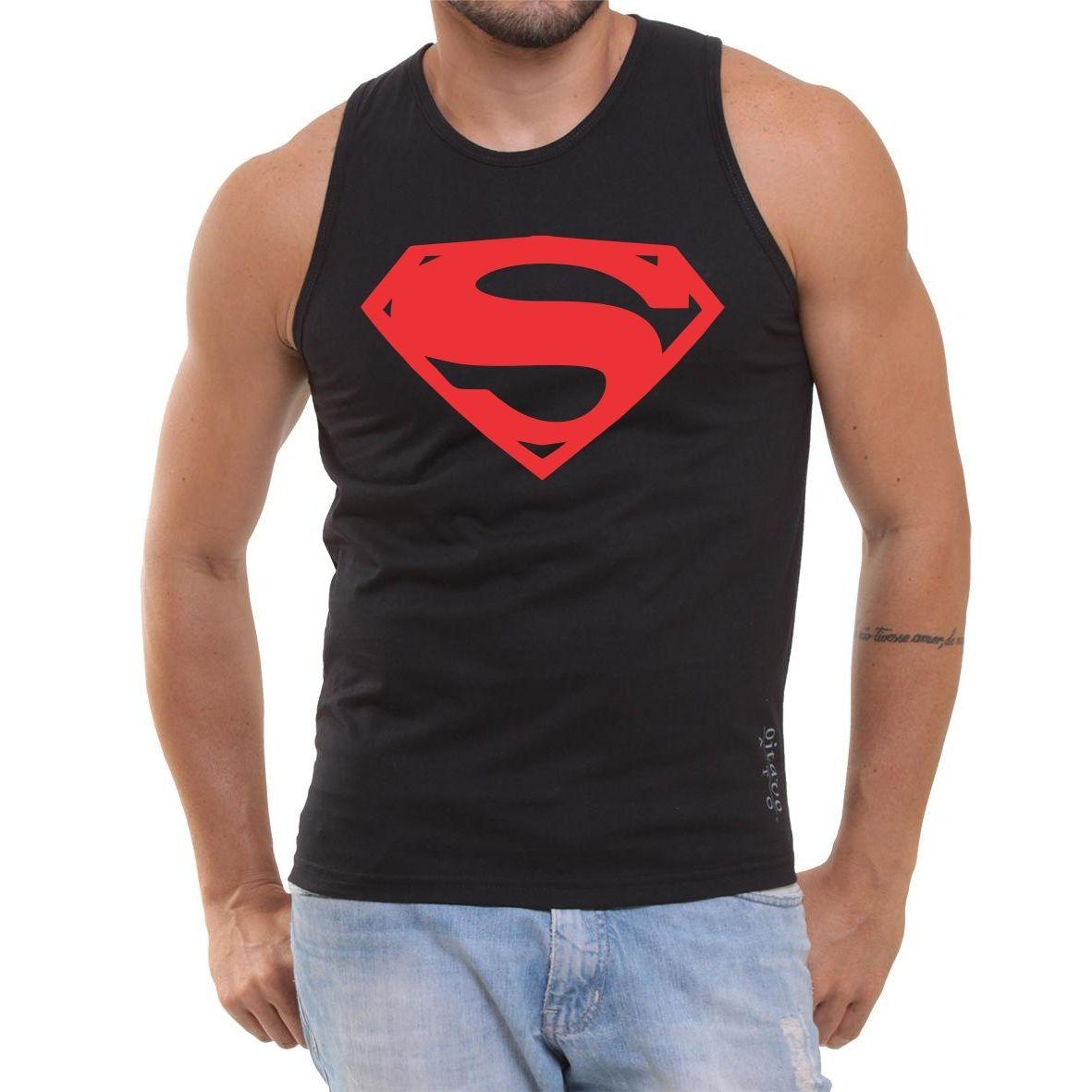 c9ac08431 Carregando zoom... regata super homem treino fitness superman musculação  herói