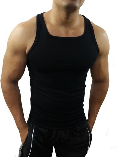 regata tank básica slim fit masculina viscolycra