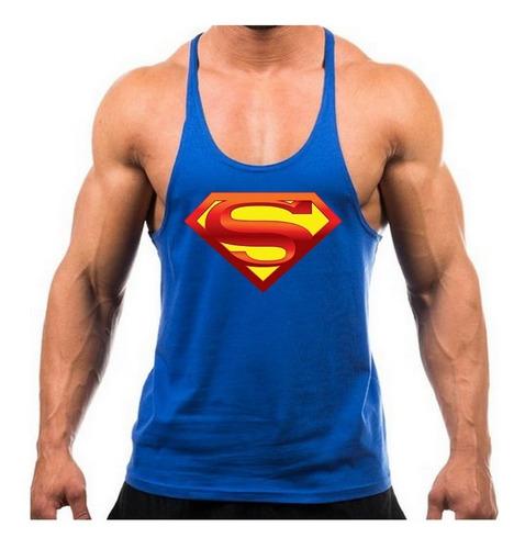 regatas academia treino musculação super heróis - superman