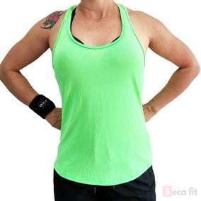 62e9cc2f05a4e Blusa Camiseta Regata Feminina Dryft Treino Dryfit Poliamida