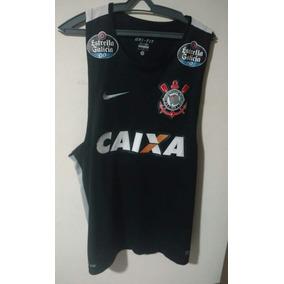 a62158d62da11 Camisa Regata Do Corinthians Treino Exclusiva Jogador Jogo