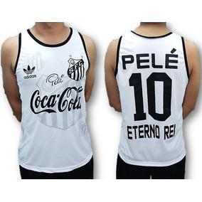 0577bf20e7237 Camisa Regata Do Santos Pelé Eterno Rei Lançamento 2019