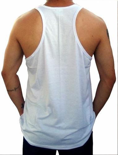 regatas masculinas de academia xis eyph 100%algodão