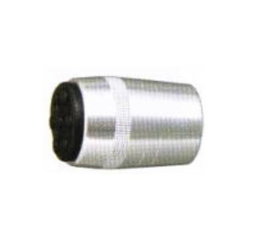 regatón  aluminio goma para caña de pesca