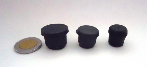 regatón plástico tope interior p/caño 7/8   pulgada